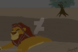 The Return of the Lion King by Fumasterfeng