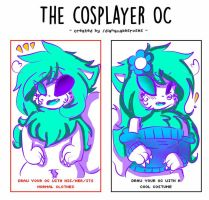 Cosplayer OC [Meme] Ashy by cutelittlepikakitty