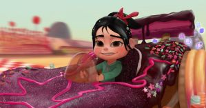 Wreck it Ralph - Vanellope - So I Win Again? by RuddsArt