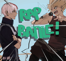 Kaachan vs Toroki RAP BATTLE by Bev-Nap