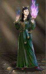 Sorceress by Genggendall