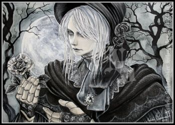 Bloodborne doll-good hunter what is it you desire? by Hollow-Moon-Art