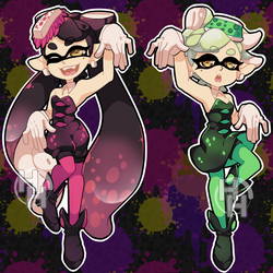 Squid Sisters by HitsuHere