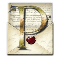 Steampunk PDF open-envelope Icon by yereverluvinuncleber