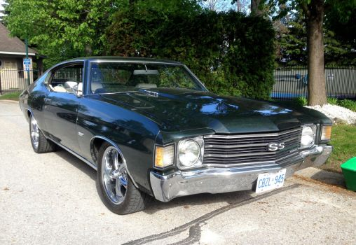 1972 Chevelle SS by Ripplin