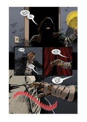 CANDLE MAN Page 3 Letters by KurtBelcher1