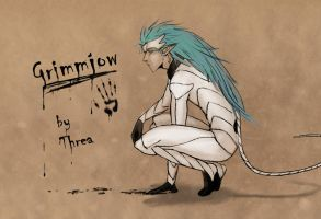 Grimmjow's sign by Threa