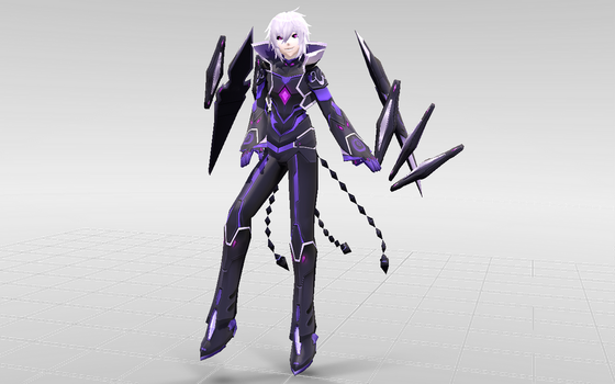 [MMD-Elsword] Add Diabolic Esper DOWNLOAD! by Darknessmagician