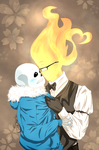 Undertale Sansby - Personal Space, Grillbz by skerbb