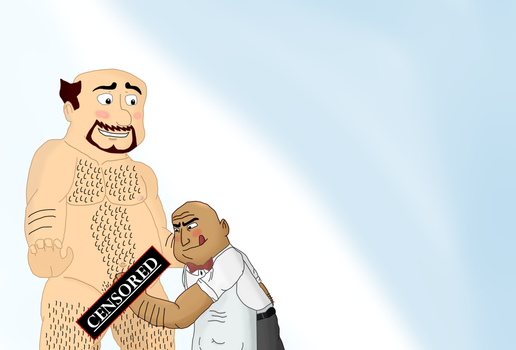 Fun time for Vickle and Glenn (censored) by GJYYNGII