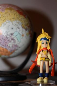 Rikku and Her World by aznriku