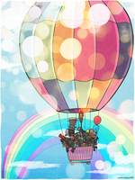 Hot Air Balloon by sgtst0rm