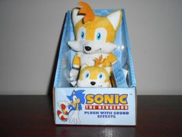 Tails Plushies with Sound Effects by BoomSonic514