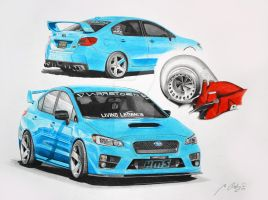 Subaru STI 16 by Mipo-Design