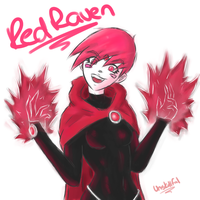 Red Raven by UnSkillful