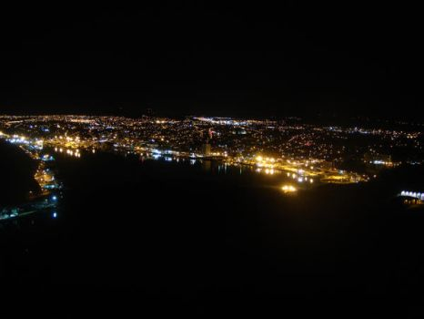 St. John's Harbour at Night by Xjph