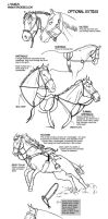 How to draw tack Optional Extras by sketcherjak