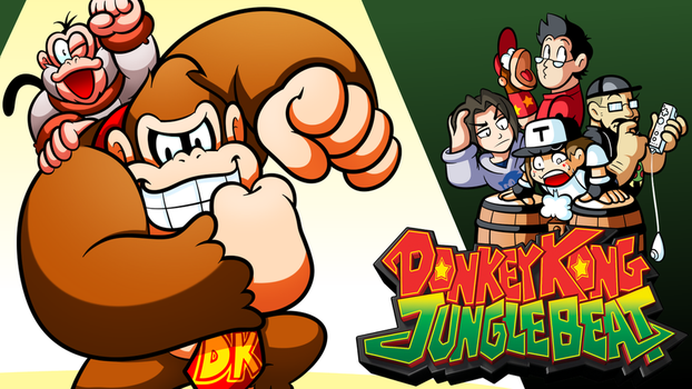 Brainscratch Thumbnail - Donkey Kong Jungle Beat by JamesmanTheRegenold