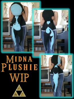 Imp Midna Plushie .:WIP:. by Liquidfire3