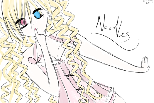 Noodles {NEW OC} by locomore