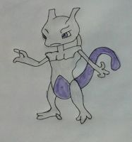 Mewtwo by JQroxks21