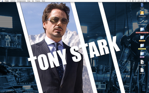 Tony Stark by xel-