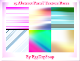 15 Abstract Texture Bases by EggDrpSoup