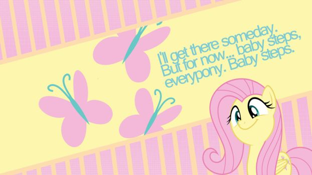 Fluttershy: one day at a time by Nero-Inferno