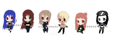 Naruto Female Adopts[6/6 Open] by gaarafanlovers