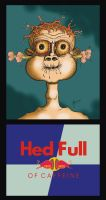 Hed Full of Caffeine by Valnor