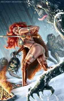 Red Sonja by ArcosArt