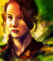 Katniss by chanso