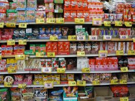pocky aisle by sushihi