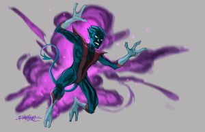 NIGHT CRAWLER by RM73