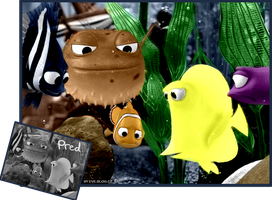 Colorization - Finding Nemo by Evelyn2