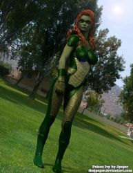 Test render of Poison Ivy.  Just playing around by thejpeger