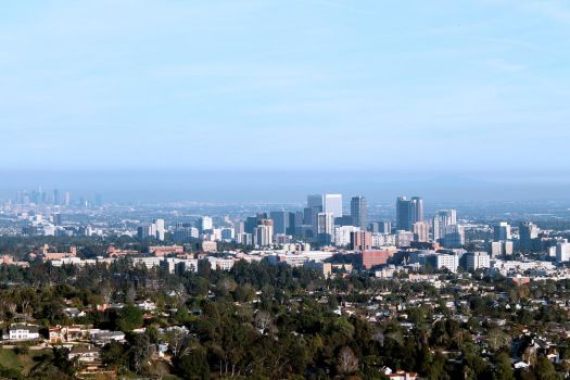 Los Angeles from Above by nenglehardt