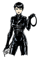 Catwoman by akensnest