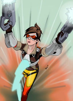 Overwatch: Tracer by rmsk8r05