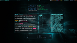 Arch Linux and AWESOME - July 2013 by f-s0ciety