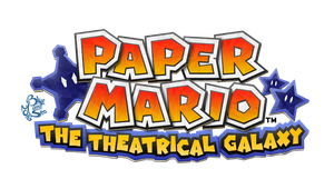April Fools 2016 - NX Paper Mario Logo by Blue-Paint-Sea