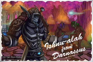Ishnualah from Darnassus by TwoTigerMoon
