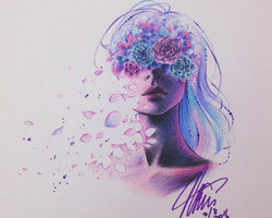 floral and fading by maenasheryn