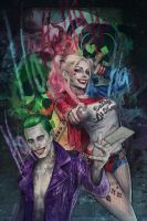 Joker and Harley (Suicide Squad) by jasric