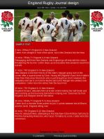 England Rugby Union by Vyano-Xiaah