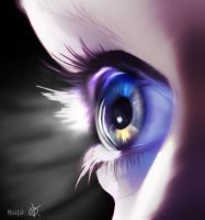 Ultranumb eye by RadBadCat