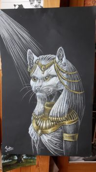 Bastet by Girole