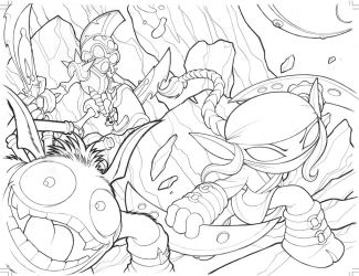 Skylanders Wraparound Cover 03 by Baldeon