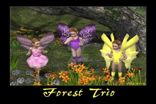 Forest Trio by Arialgr