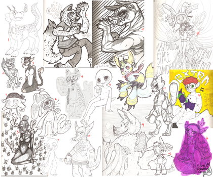 Sketchdump by MrSaturn420